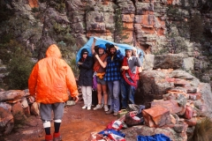 Group at Top Camp Moonarie Tony Barker on R