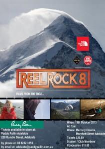 Reelrock 8 Adelaide Flyer