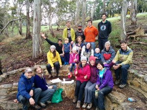 Morialta Crag Care first birthday celebrations
